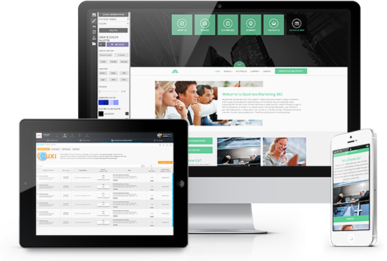Accounting website templates website designs for accounts uxi accountant websites generate more clients maxwellsz