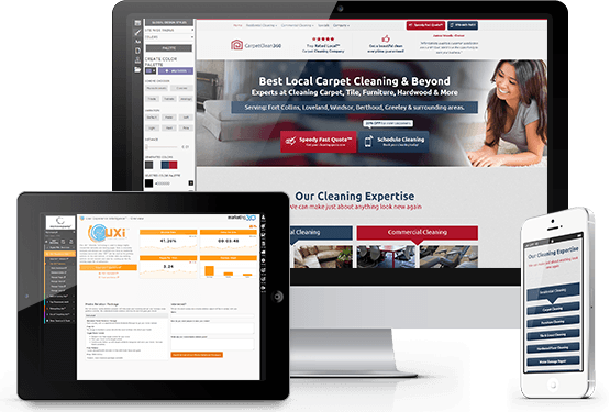 Carpet Cleaning Website Templates - Mobile Responsive Designs ...