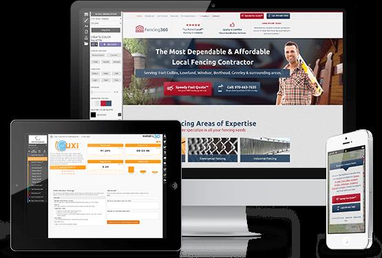 Fencing Websites - Fencing Contractor Website Template Designs