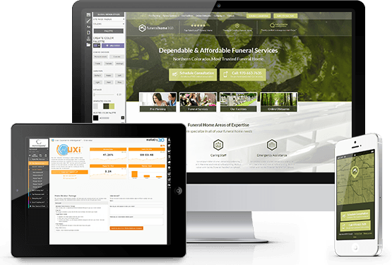 UXi  funeral home websites generate more leads Funeral Home Website Templates Mobile Responsive Designs