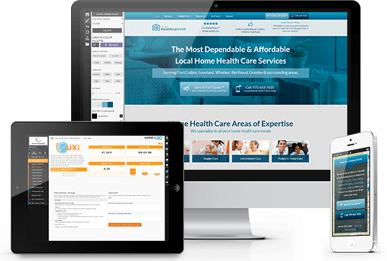 UXi® Home Health Care Websites Generate More Patients.
