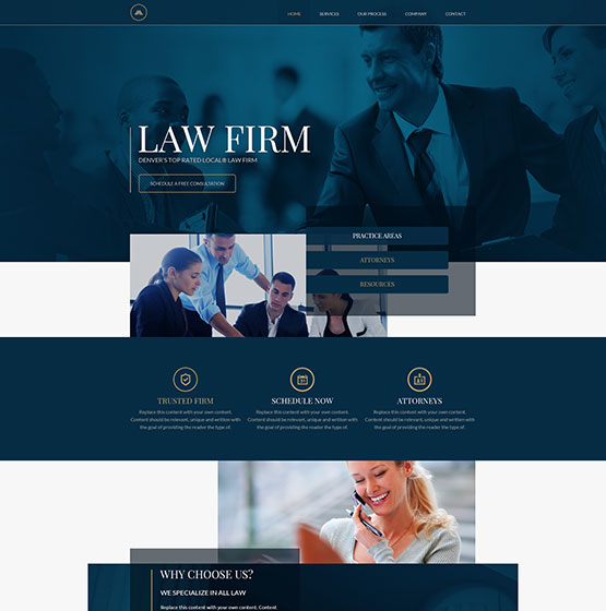 Need To Know Branding Reidel Law Firm: Mobile Responsive Templates For