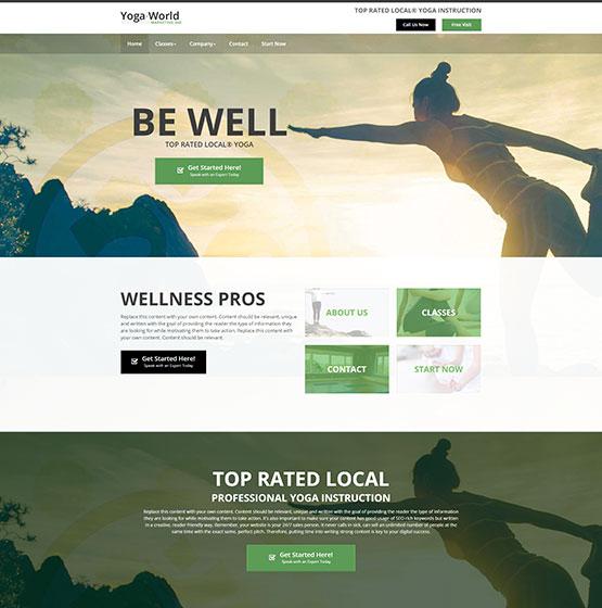 Yoga Websites Templates