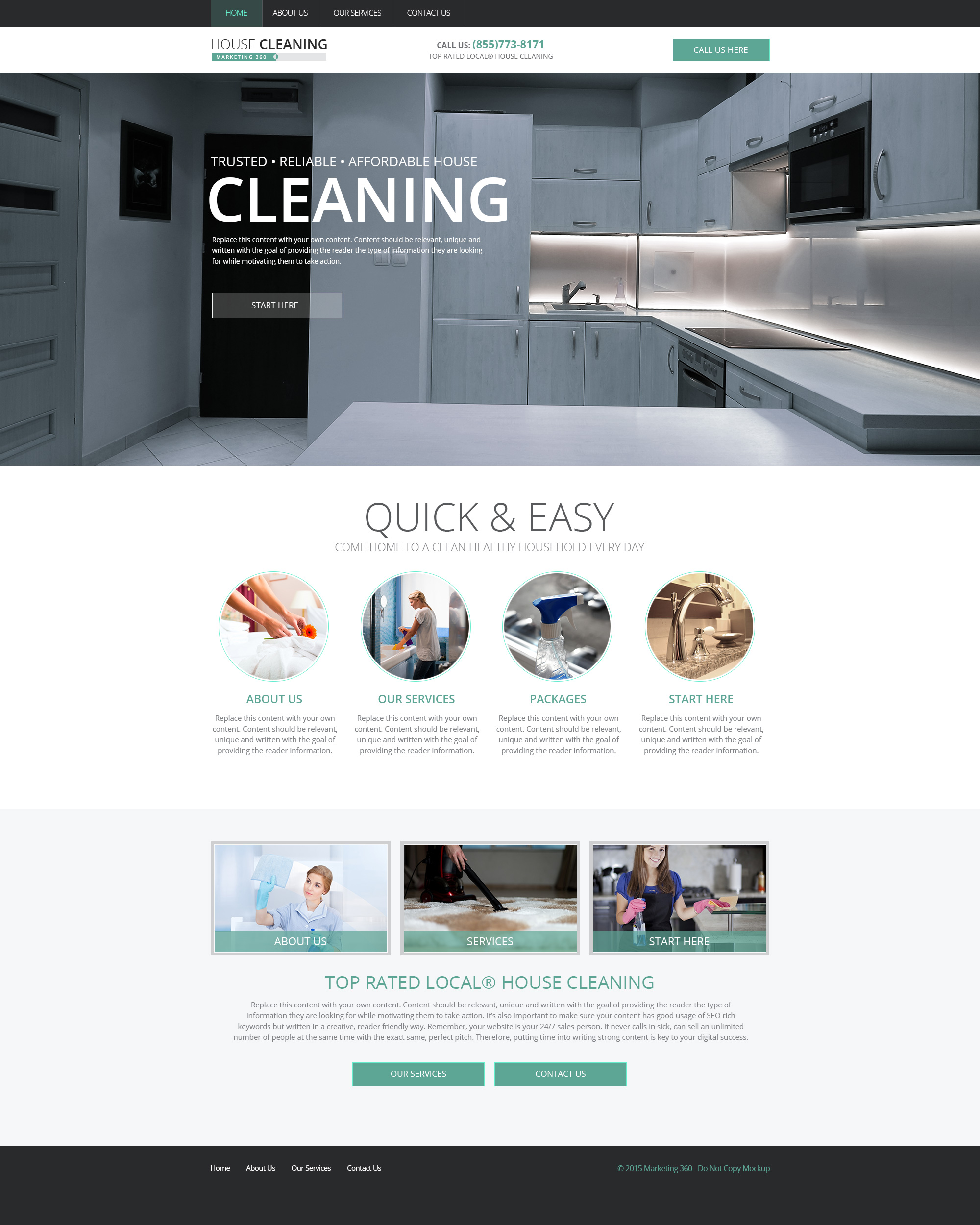 house cleaning leads