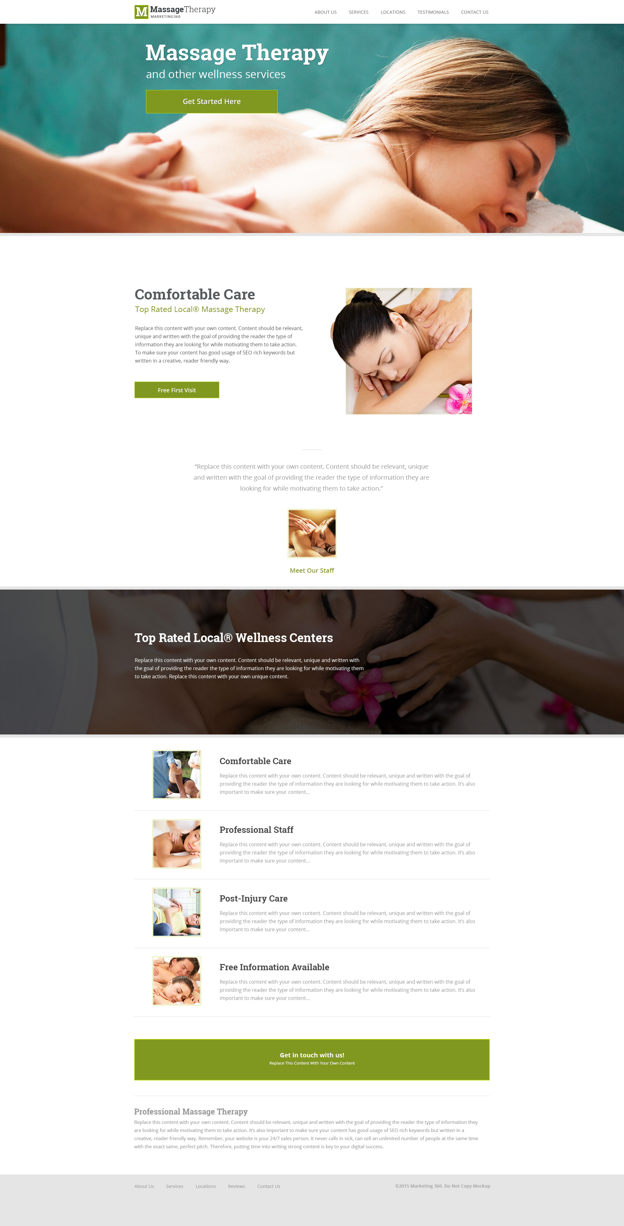 massage therapist website templates mobile responsive designs. Black Bedroom Furniture Sets. Home Design Ideas