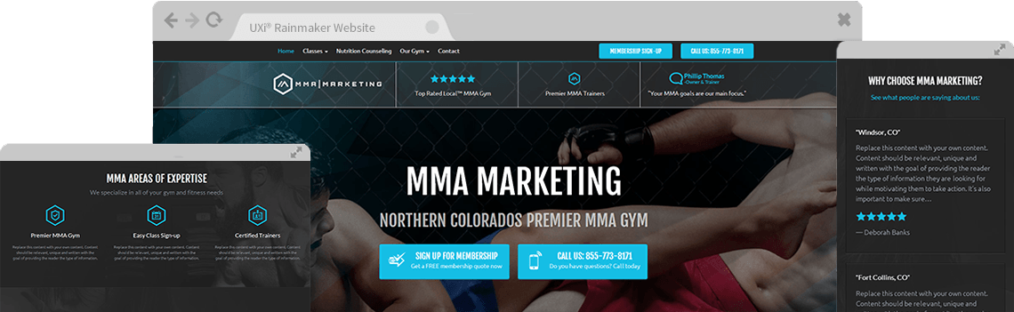rainmaker martial arts software