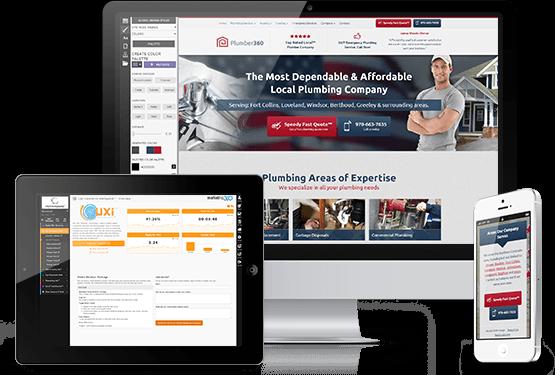 Plumbing Website Template - Mobile Responsive Designs for Plumbers
