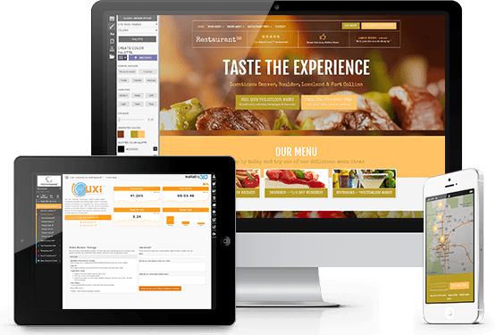 Restaurant website designs responsive