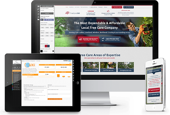 Tree Service Website Templates - Mobile Responsive Designs